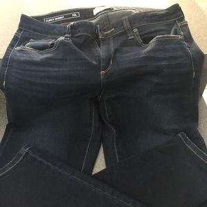 Woman's Sonoma Skinny Jeans Curvy Size 10 LONG